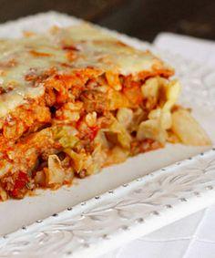 Stuffed Cabbage Casserole, yummy!!! |skinnytaste.com
