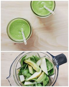 Kid Approved Veggie Smoothies: Spinach Avocado