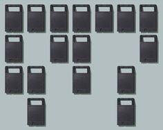 Image of Relics of Technology; ROM Cartridges. Art Print. Wall art.