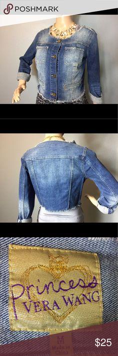 Vera Wang denim jacket Denim jean jacket by Princess Vera Wang Vera Wang Princess Jackets & Coats Jean Jackets