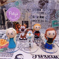 Porta recados Frozen - Paty's Biscuit