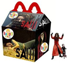 """""""Saw"""" Happy Meal"""