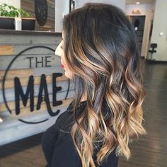 This hair tho. Color by @ingyazalea #hair #hairenvy #hairstyles #haircolor #brunette #balayage #highlights #newandnow #inspiration #maneinterest