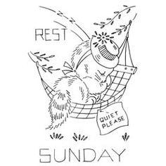 Reference10292  TitleA Kitten a Day - Sunday  SubjectDays of the Week  SourceVogart  Instructions    NotesVogart 696