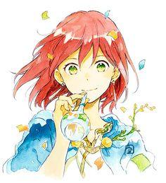 Akagami no Shirayukihime - Anime & Manga Anime Girl Cute, Kawaii Anime Girl, Anime Art Girl, Art Manga, Manga Anime, Anime Chibi, Air Anime, Anime Red Hair, Akagami No Shirayukihime