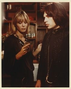 Anita Pallenberg and Mick Jagger (Performance)