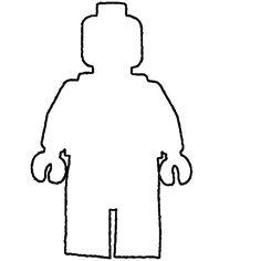 Blank Lego Shirt Template