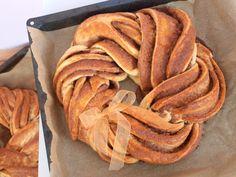 Estonský kringel - Avec Plaisir Snack Recipes, Snacks, Apple Pie, Chips, Bread, Breakfast, Food, Snack Mix Recipes, Morning Coffee