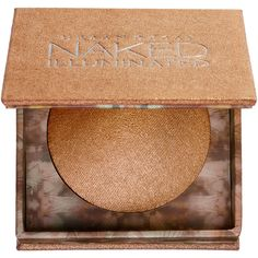 Urban Decay Naked Illuminated Shimmering Powder for Face and Body (290 MAD) ❤ liked on Polyvore featuring beauty products, makeup, face makeup, face powder, beauty, bronzer, urban decay and loose face powder