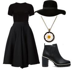 Little bit of Fashion: DARKNESSTento outfit bol vytvorený na stránke www...