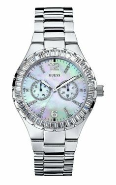 Guess Ladies Watches Guess Trend Ladies Bracelet W13501L1 - 4 GUESS http://www.amazon.com/dp/B000SWFJEC/ref=cm_sw_r_pi_dp_jSbLtb1FY96NT9F5