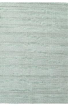Kas Oriental Yazd Waves Ocean Rug