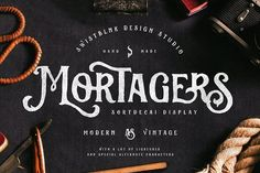 Sortdecai Display (Intro Sale) by Swistblnk Design Std. on @creativemarket