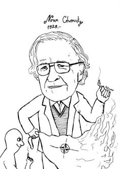 """Noam Chomsky (1928- ) Before he was widely cited by sociologists, Chomsky engineered a revolution in linguistics. In linguistics he is widely known for his theory about a """"universal grammar."""" He has also written on war, politics, & mass media, & is the author of over 100 books. According to the Arts and Humanities Citation Index in 1992, Chomsky was cited as a source more often than any other living scholar from 1980 to 1992, and was the eighth most cited source overall (Wikipedia)."""