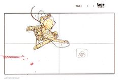artbooksnat:  Attack on Titan (進撃の巨人)Original animation drawings from Eren Jaeger's swinging sequence at the end of episode #11. The animation above contains 35 key frames, but TV Animation Attack on Titan Art Works Vol. 03 (Amazon US | JP) collects a remarkable 164 sequential frames from this bit of animation.