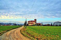 View from Mottalciata (Piedmont - Italy)