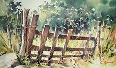 Cristiano Graniou watercolor: