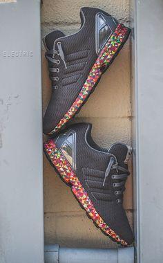adidas Originals ZX Flux Multicolour Sole