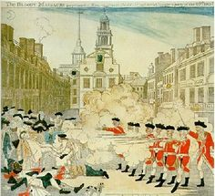 History Tech blog - Persuasive group activity for the American Revolution