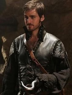Hook -never would I have thought of him as sexy until Once Upon a Time.