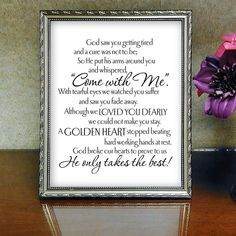 Always Remember Memorial Idea, remembrance sign, memorial ideas dad mothers, in remembrance wedding, Funeral Gifts, Funeral Cards, Funeral Ideas, Funeral Quotes, Condolence Gift, Remembering Dad, Heaven Quotes, Funeral Planning, Bereavement Gift