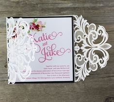 135 best laser cut wedding invitations images on pinterest laser affordable laser cut wedding invitations vintage laser cut wedding invitations water color wedding laser filmwisefo