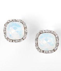 BKE Milky Stone Earring