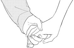 How to Draw Holding Hands - Really Easy Drawing Tutorial Easy Drawing Tutorial, Drawing Tutorials, Art Drawings Sketches, Easy Drawings, Couple Drawings, Hand Drawing Reference, Drawing Reference Poses, Body Drawing, Drawing Base