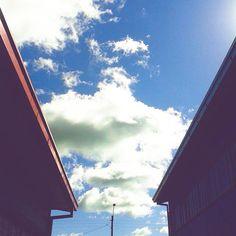 Nada mas hermoso en un día bello... El cielo.