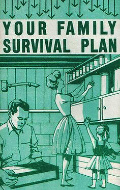 Your Family Survival Plan - 1963, Mid Century interior design of a certain type