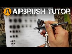 Beginner at airbrushing? Learn basic technique with these airbrush control exercises! Modeling Techniques, Modeling Tips, Painting Techniques, Free Stencils, Stencil Templates, Air Brush Painting, Painting Tips, Spray Painting, Pinstriping