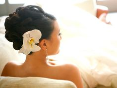 Neat and pretty for wedding-future wedding updo-Sunflower