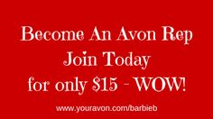 Become an Avon Representative online - Start your own Avon business today for only $15 - starter kit included - online training - Avon Representative