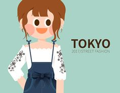 """Check out new work on my @Behance portfolio: """"2017 TOKYO girl's fashion in S/S"""" http://be.net/gallery/51737003/2017-TOKYO-girls-fashion-in-SS"""