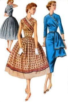 Wrap Dress Grace Kelly Style