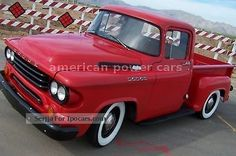 1958 Dodge Pick Up D100 V8 rare!