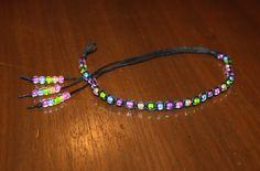 Black Hemp Anklet Bracelet by MidwestTexanDesigns