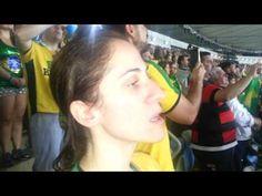 Himno de Brasil. Campeón Fútbol J Olímpicos Río 2016