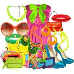 #neon #colorful #fashion #style #bright