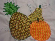 Bordado Fantasia Naranja Triángulos - YouTube