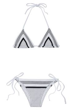 Black and white Charlie by Matthew Zink swimsuit