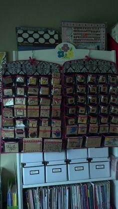 Rubber Stamp Organizer 88