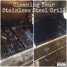 Cleaning Your Stainless Steel Grill on the Cheap!