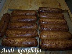 Andi konyhája - Sütemény és ételreceptek képekkel - G-Portál Hungarian Recipes, Hungarian Food, Sausage, Sweets, Bread, Cooking, Hungary, Kitchen, Hungarian Cuisine