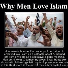 Islam. Religion of peace my ass