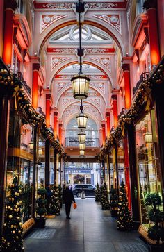 Royal Arcade, London at Christmas Arcade, Terry Hall, Great Britain, England, London, Architecture, City, Christmas Time, Places