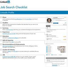 job search checklist