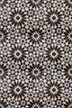 This spanish style patterned tile is part of our accents collection, and can be kept in its set of 16 or used separately on a limestone or travertine tile.  We have seen these tiles used as accents on a kitchen backsplash or as floor tiles. This design is also inspired by Moroccan design.