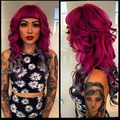 pravana wild orchid hair color - Google Search
