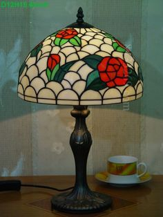 Rose Tiffany Lamps  12S0-160T311